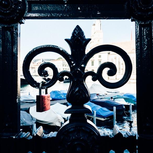Zurich Love Locks