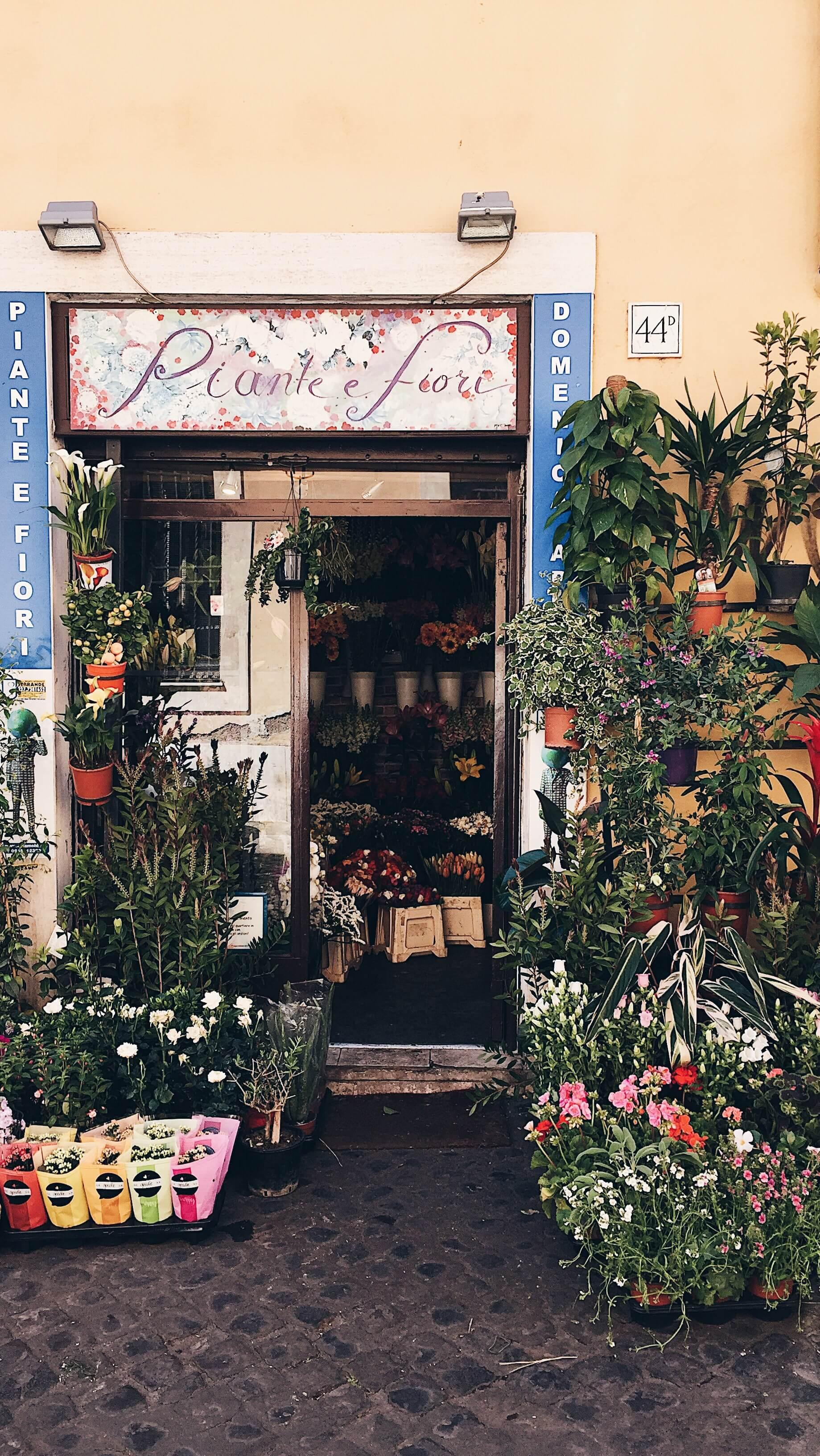 Rome Flower Shop
