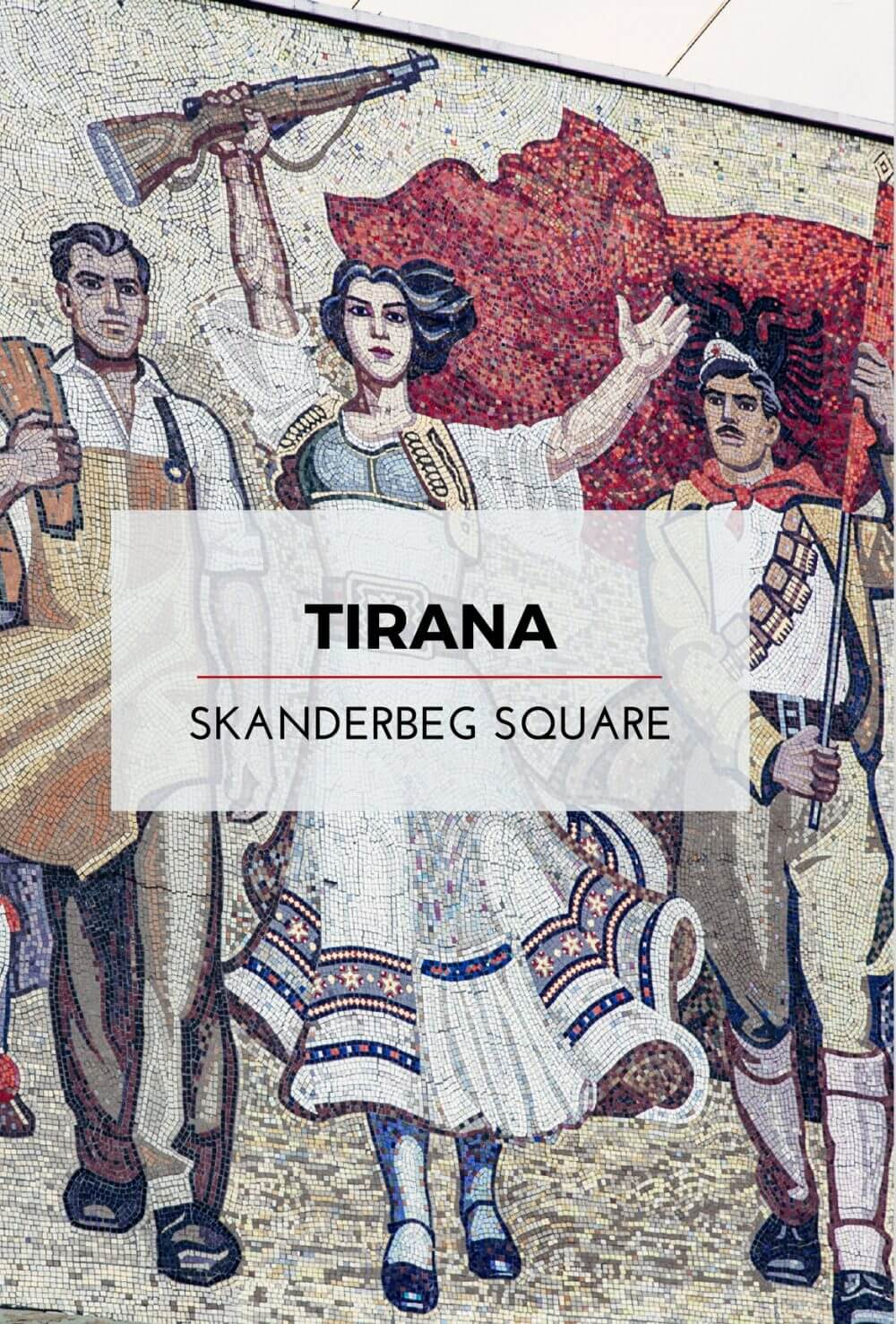 Tirana's Skanderbeg Square: All Shiny and New