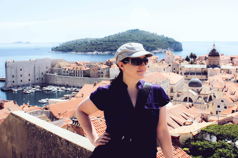 Andrea in Dubrovnik - Rear View Mirror