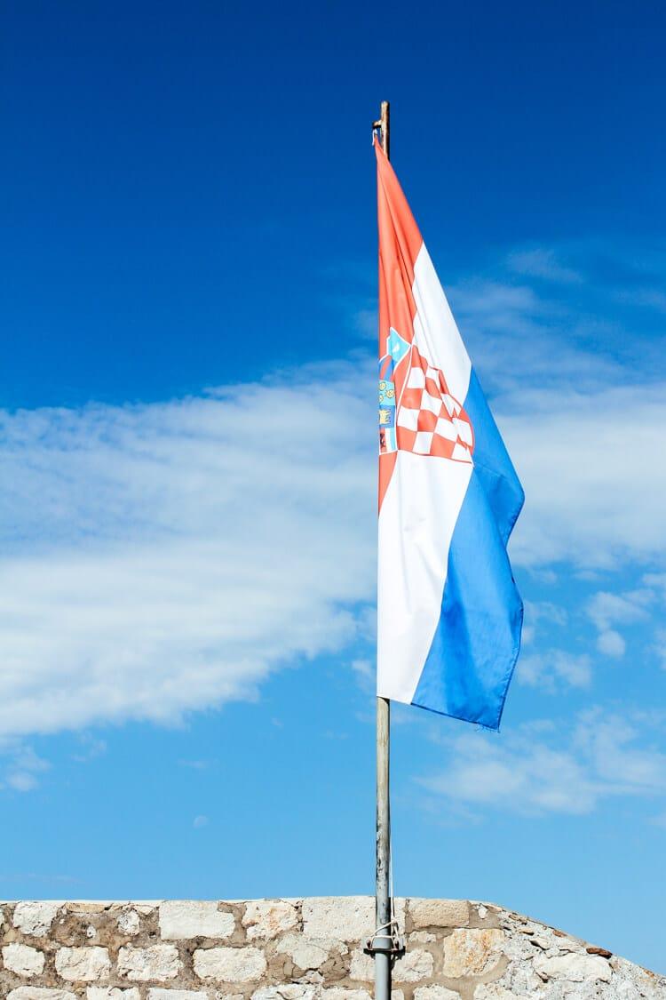 Croatia Flag 2010