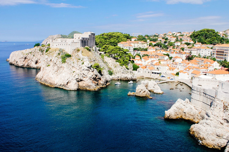 Dubrovnik from Lokrum 2010