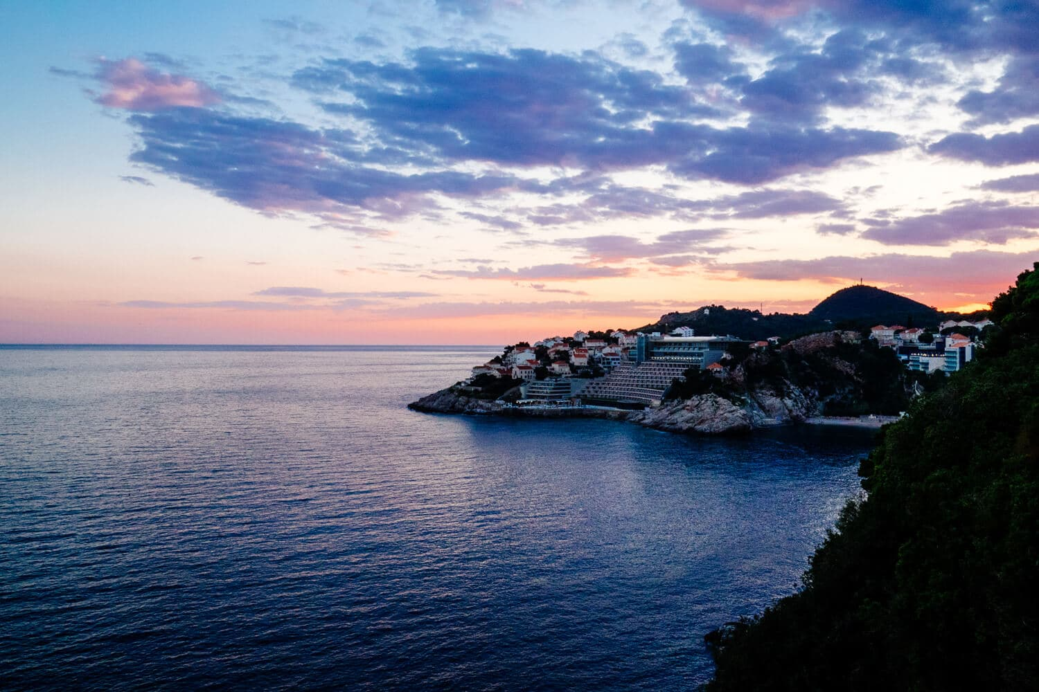 Another Dubrovnik Sunset 2017