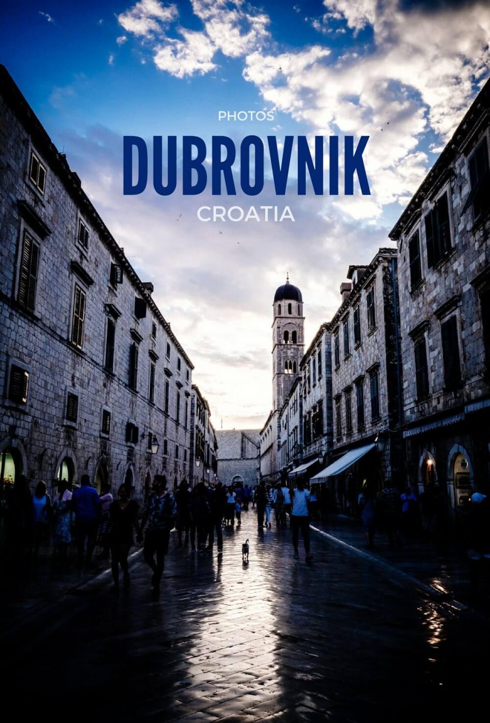 Memories of Dubrovnik