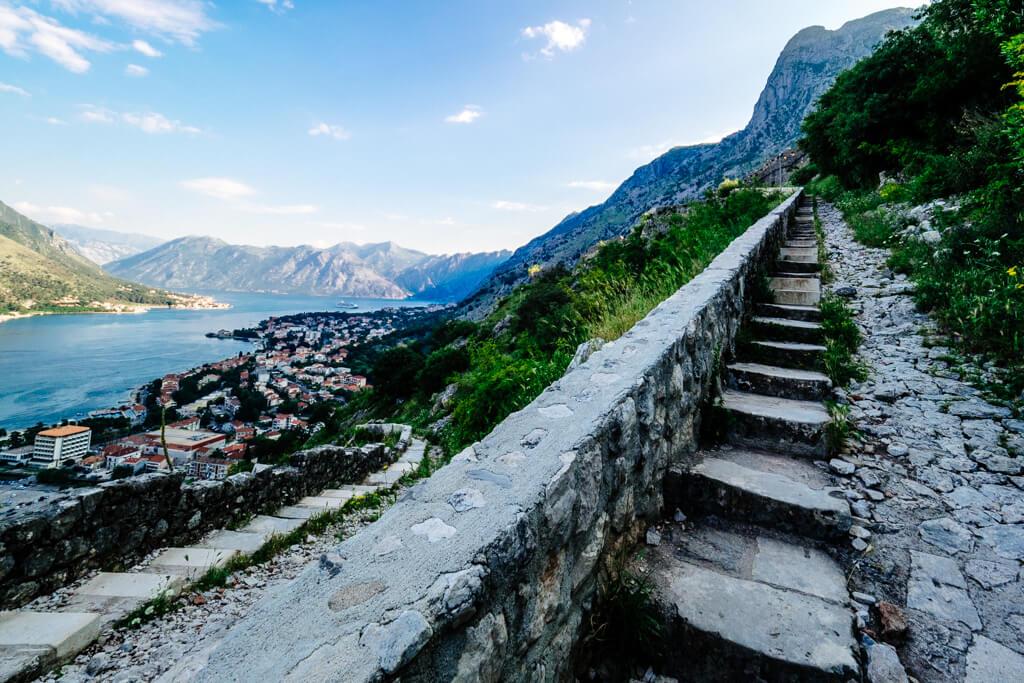 Kotor: Hike St John's Fortress