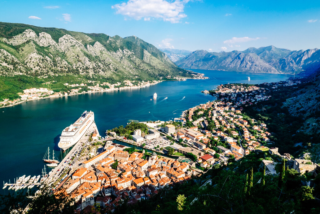 Kotor: View from St John's Fortress
