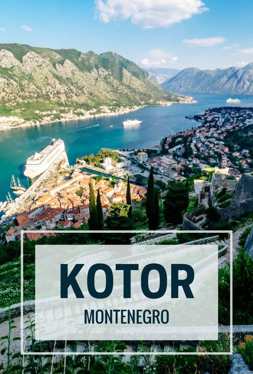 Kotor Montenegro - Rear View Mirror