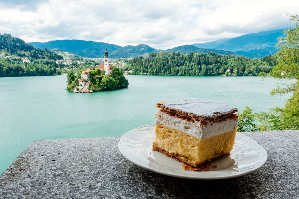 Lake Bled from Tito's Villa
