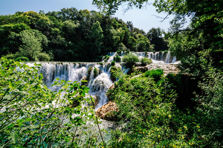 Krka: Cascading Waterfalls