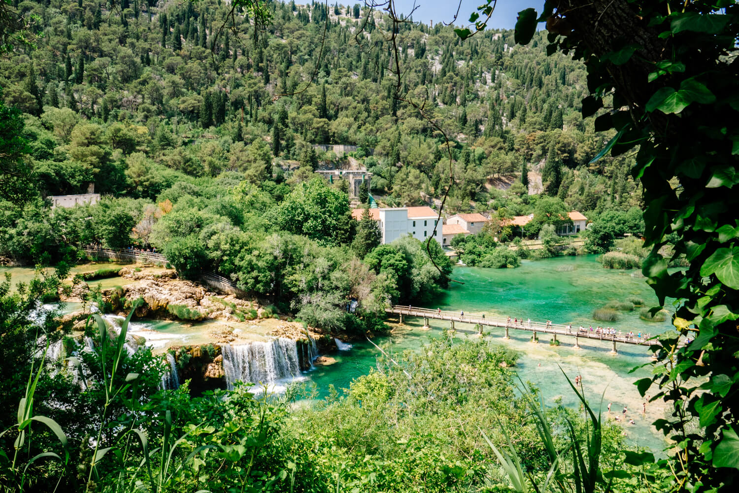 Krka National Park Near Sibenik