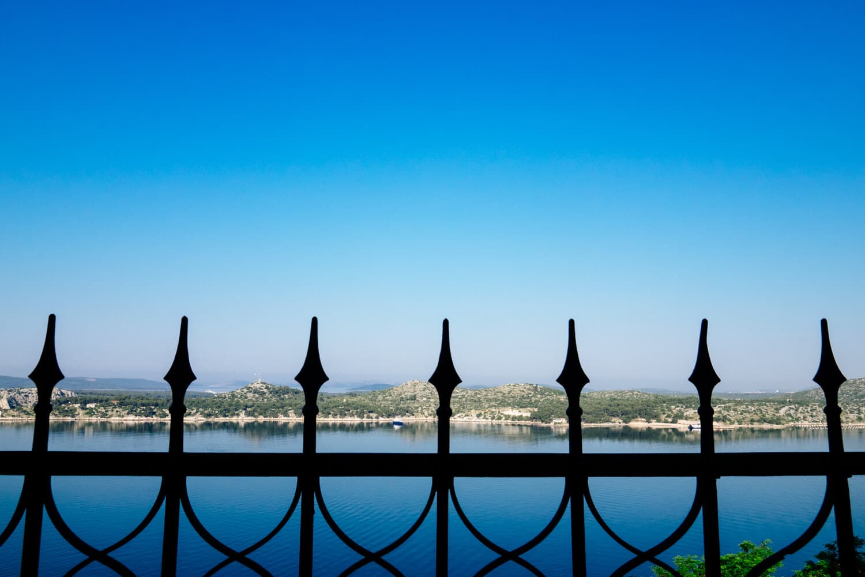 Views over Sibenik Bay