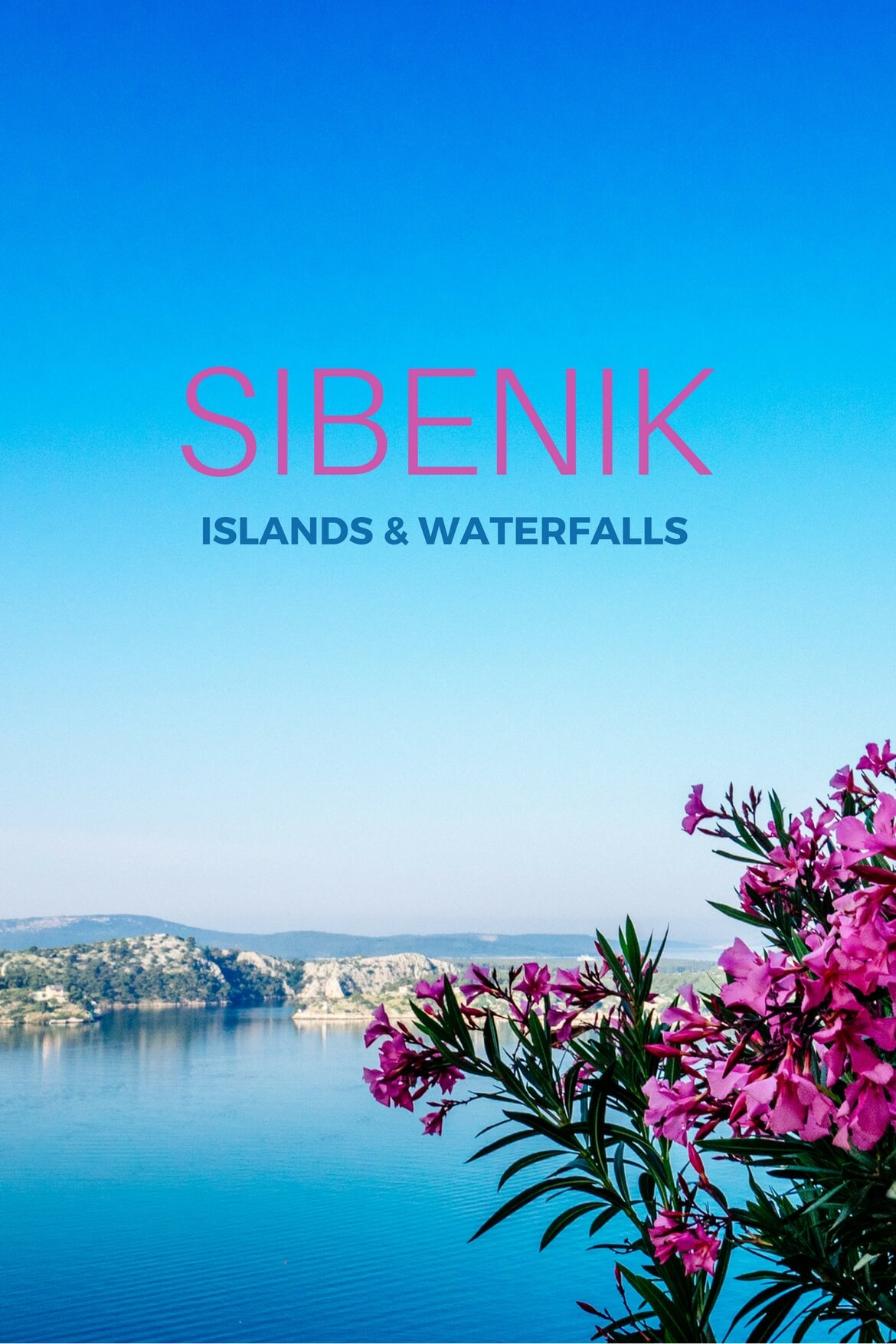 Sibenik: Islands and Waterfalls