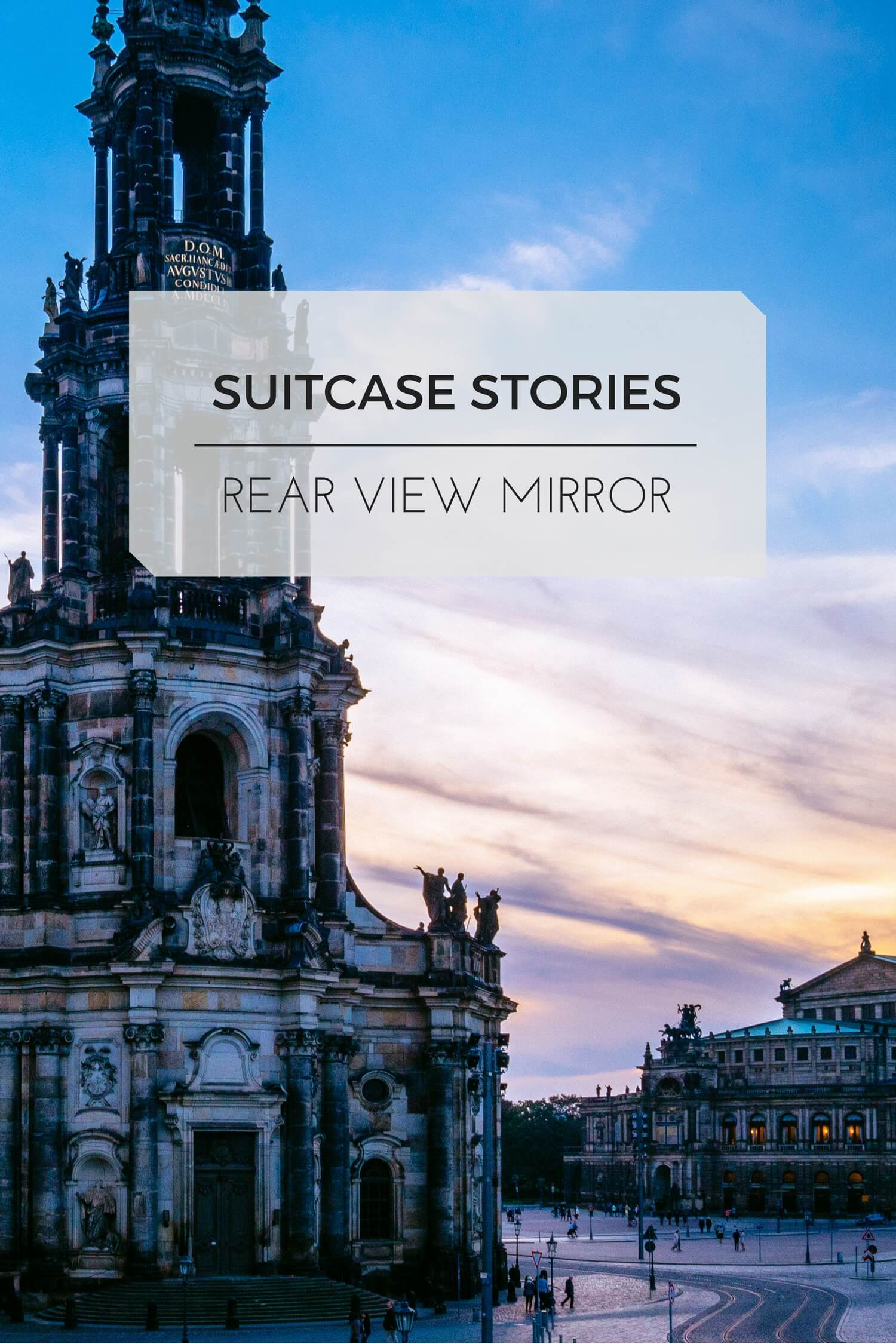Suitcase Stories: Dresden