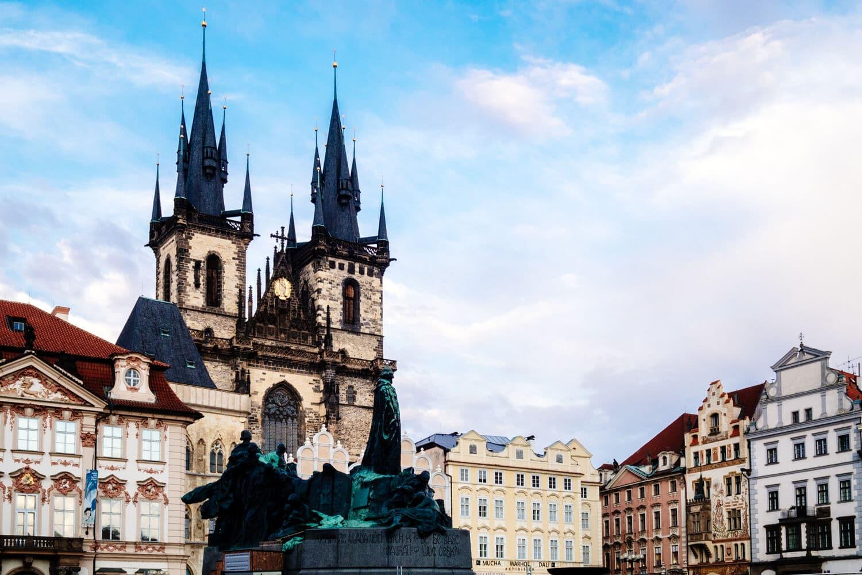 Prague Main Square - 2014