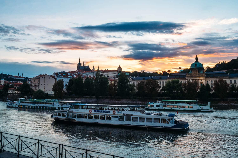 Prague Castle Sunset - 2014