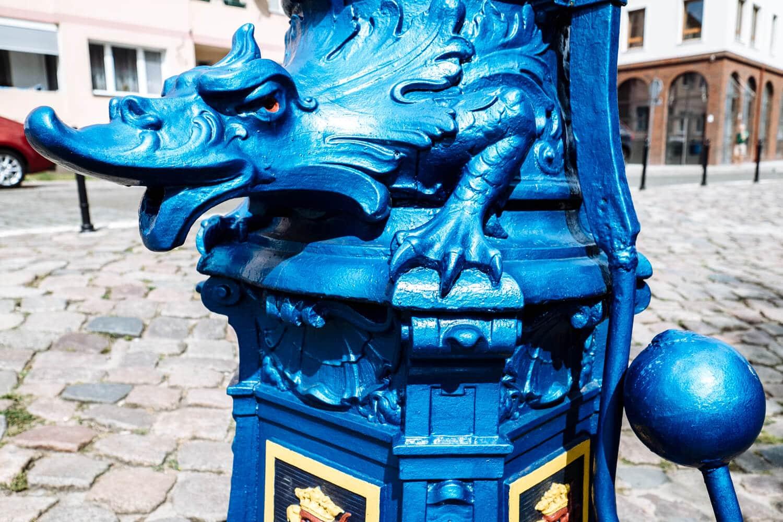 Blue Dragon Water Pump in Szczecin