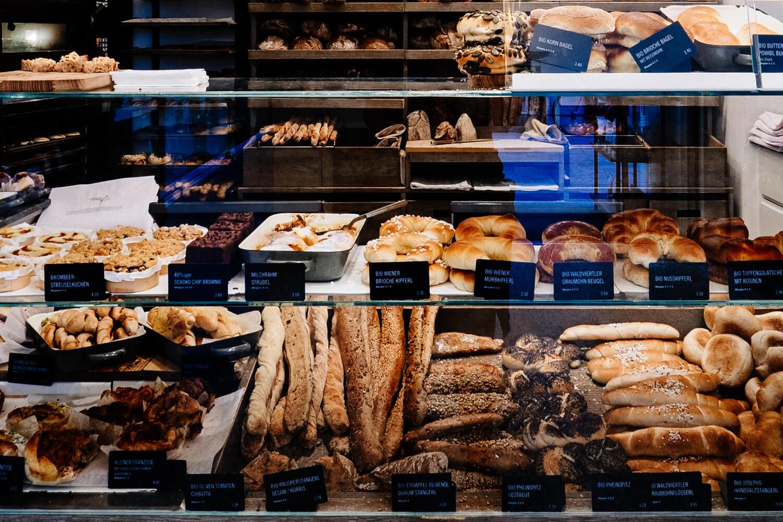 Joseph Brot Bakery in Vienna