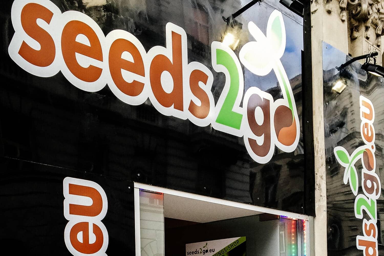 Seeds2Go: Cannabis Vending Machine in Vienna