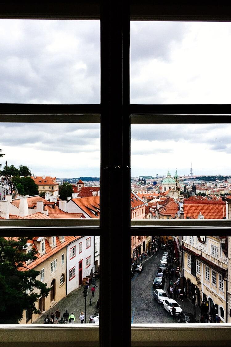 Golden Star Hotel Prague View