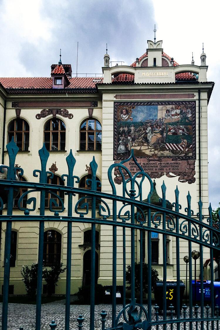 School Building in Karlin
