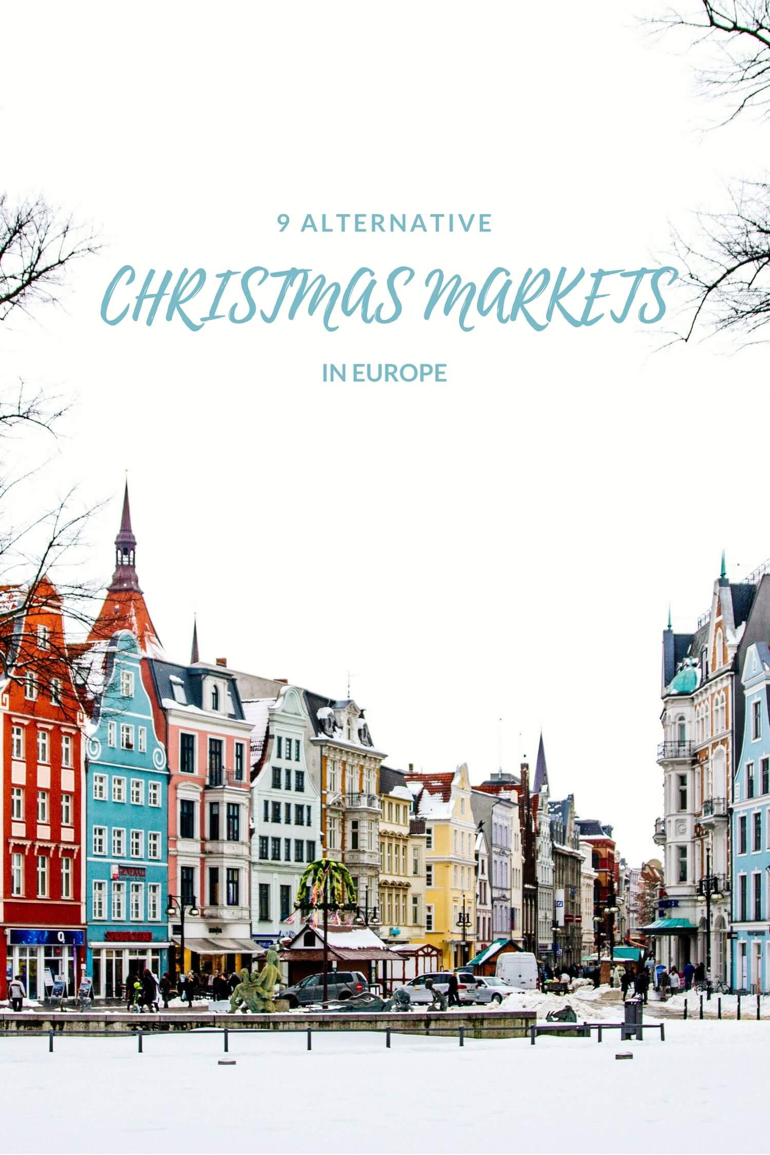 Alternative Christmas Markets in Europe