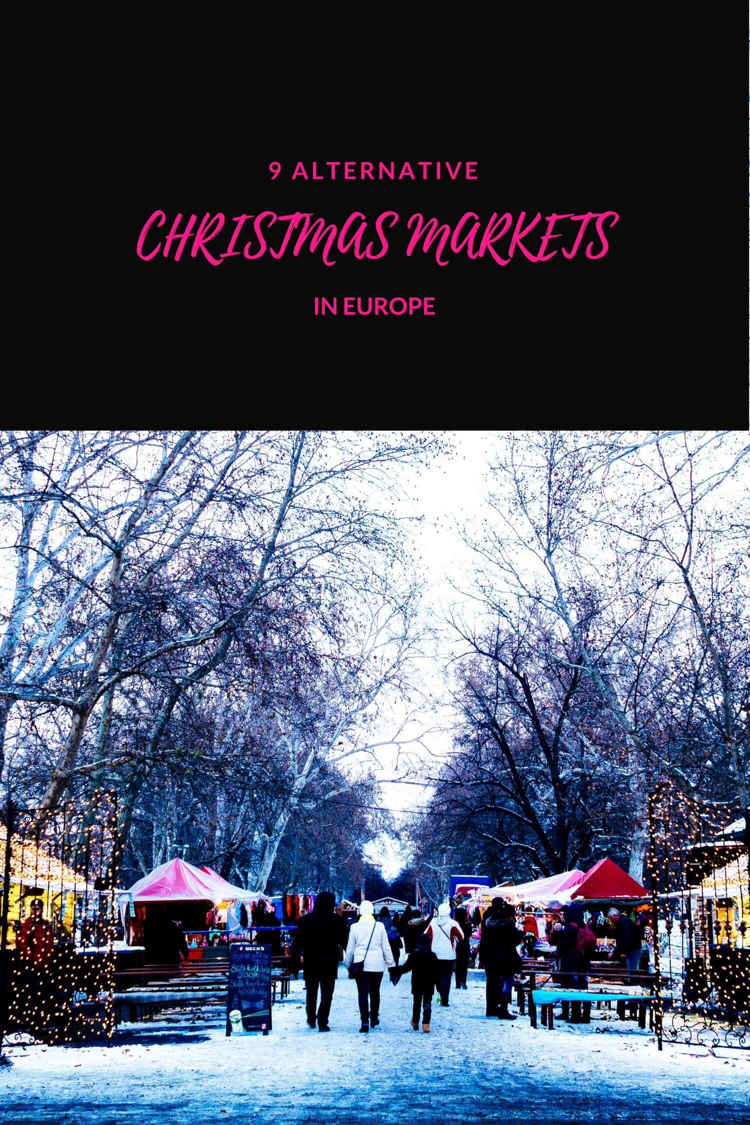 Alternative Christmas Markets