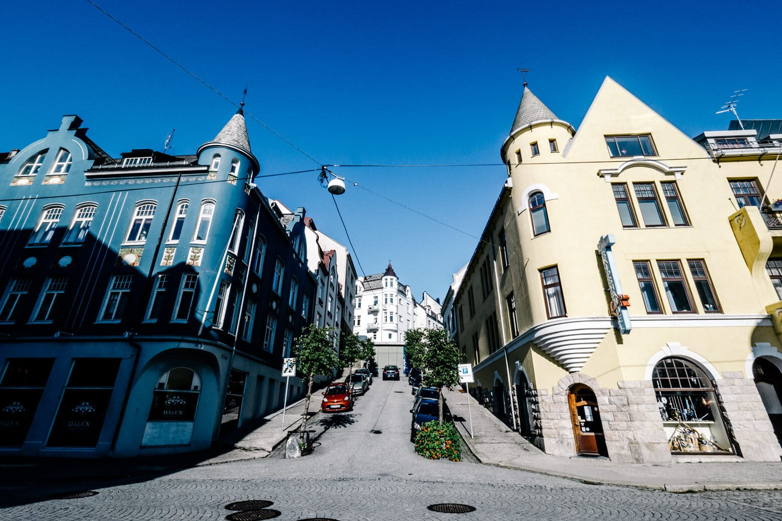 Hilly Streets of Alesund