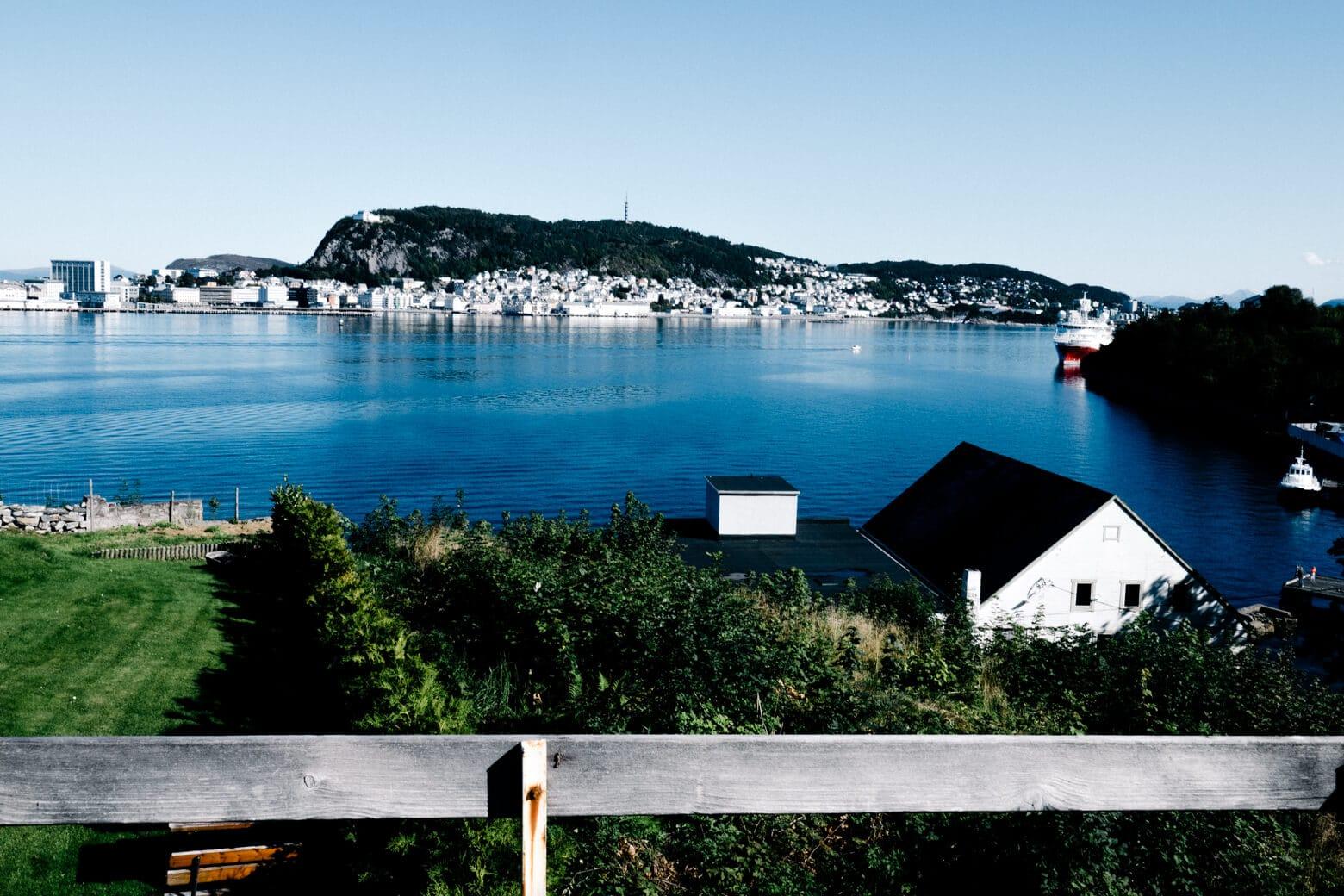 Alesund from Hessa Island