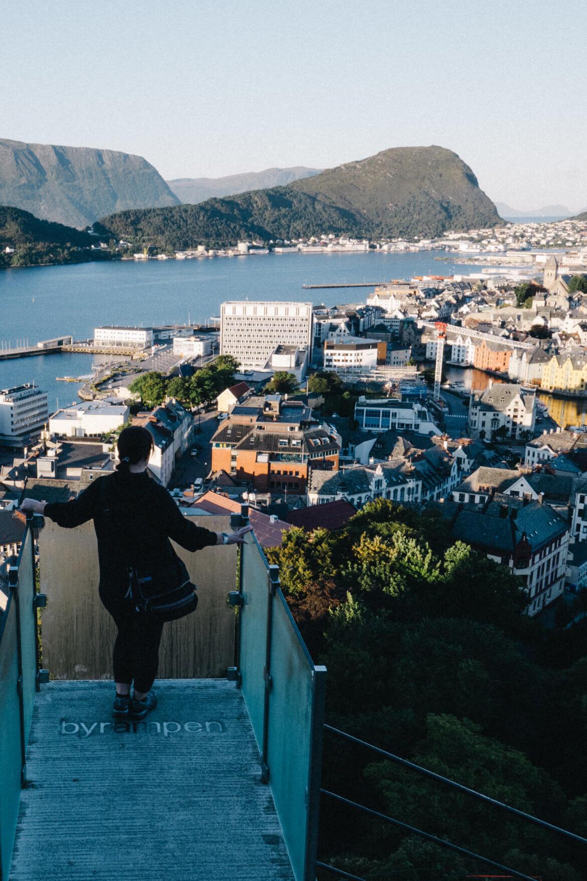 Andrea: Alesund, Norway