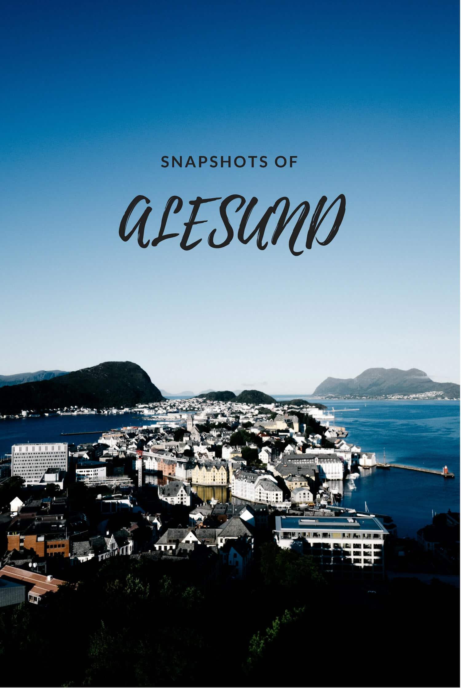 Snapshots of Alesund