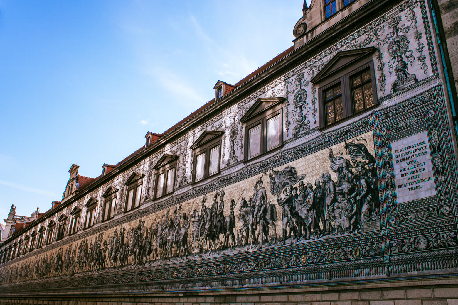 Dresden Mural - Residenzschloss
