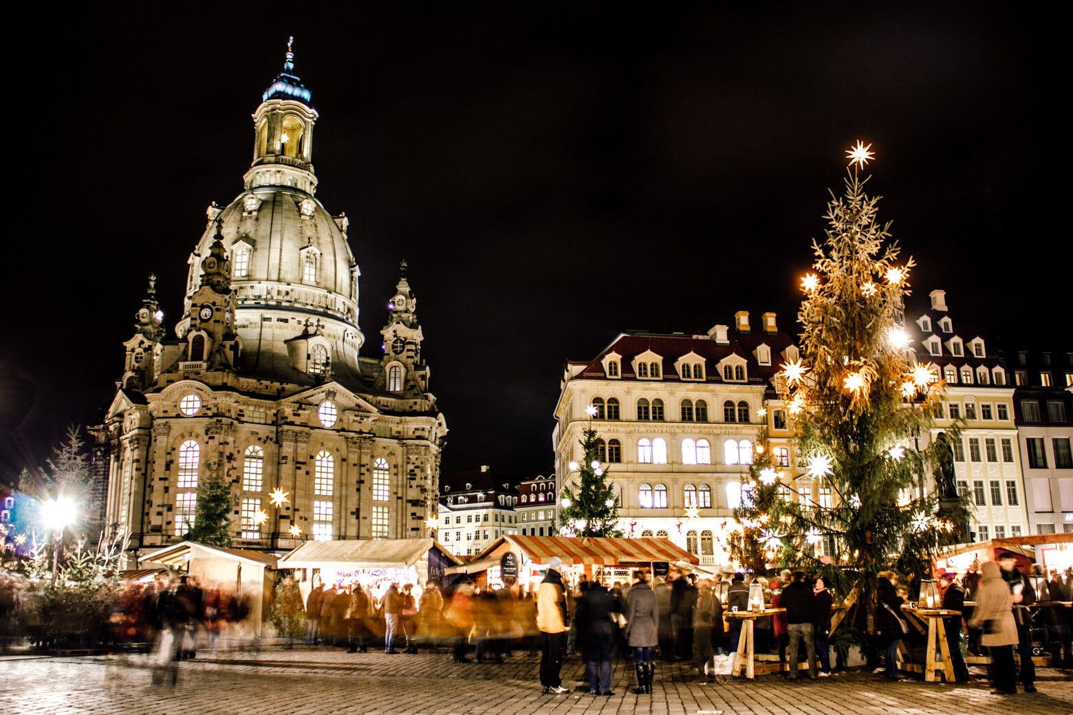 Dresden Christmas Market at Neumarkt