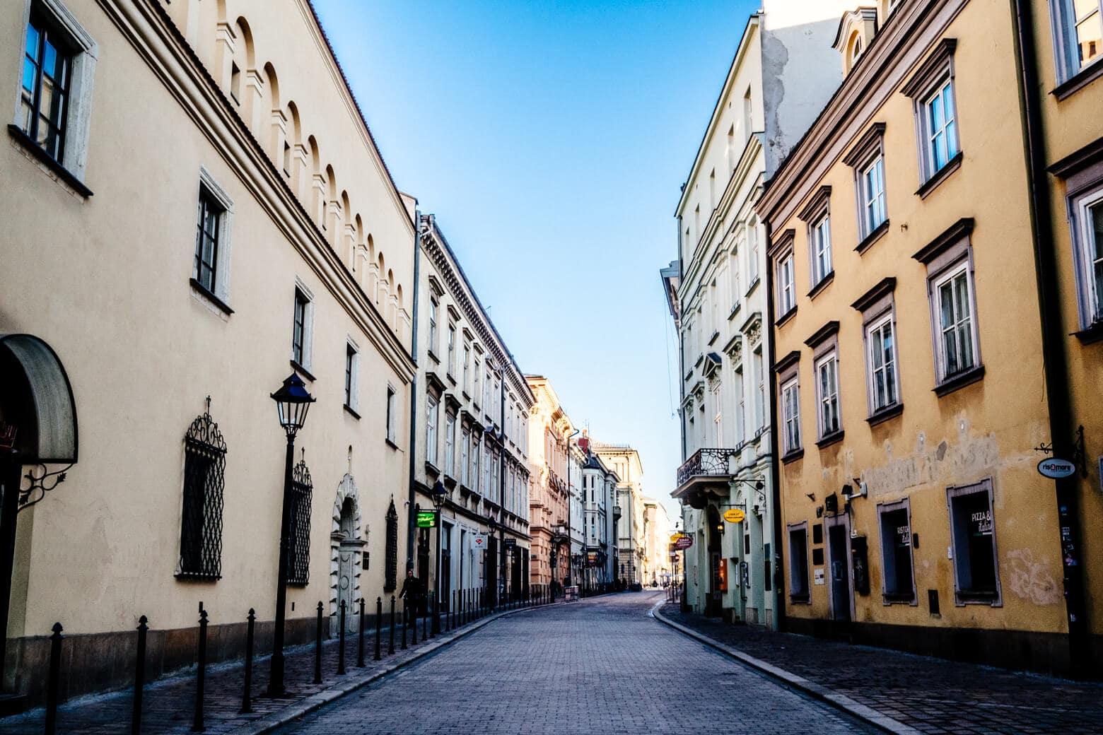 Krakow's Back Streets