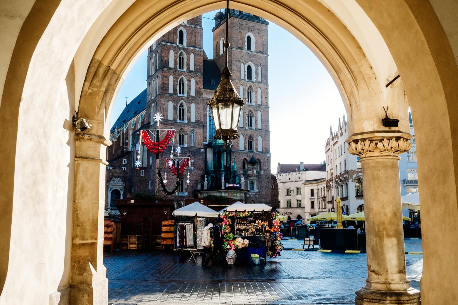 Krakow Christmas Stalls