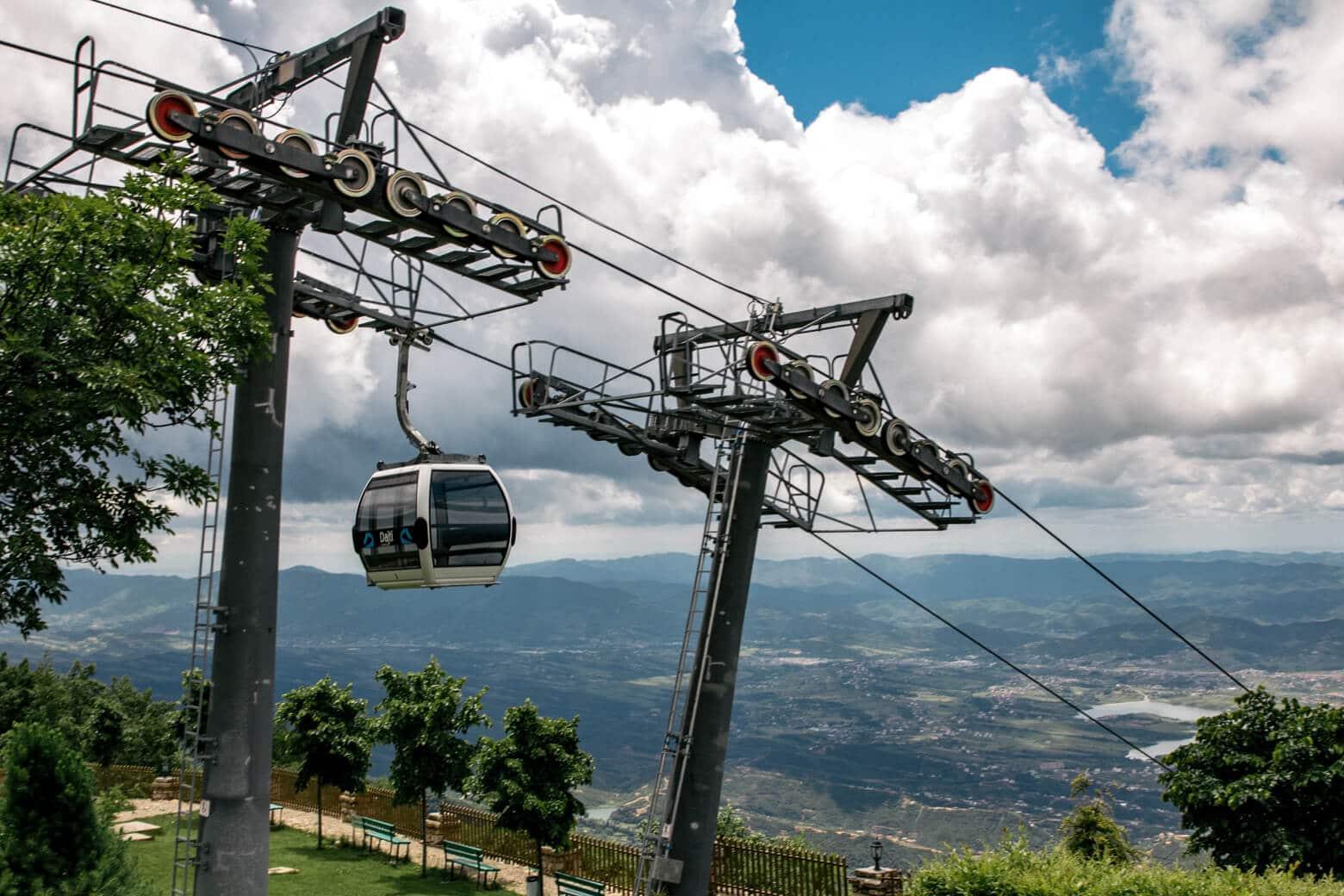 Mount Dajti Cable Car