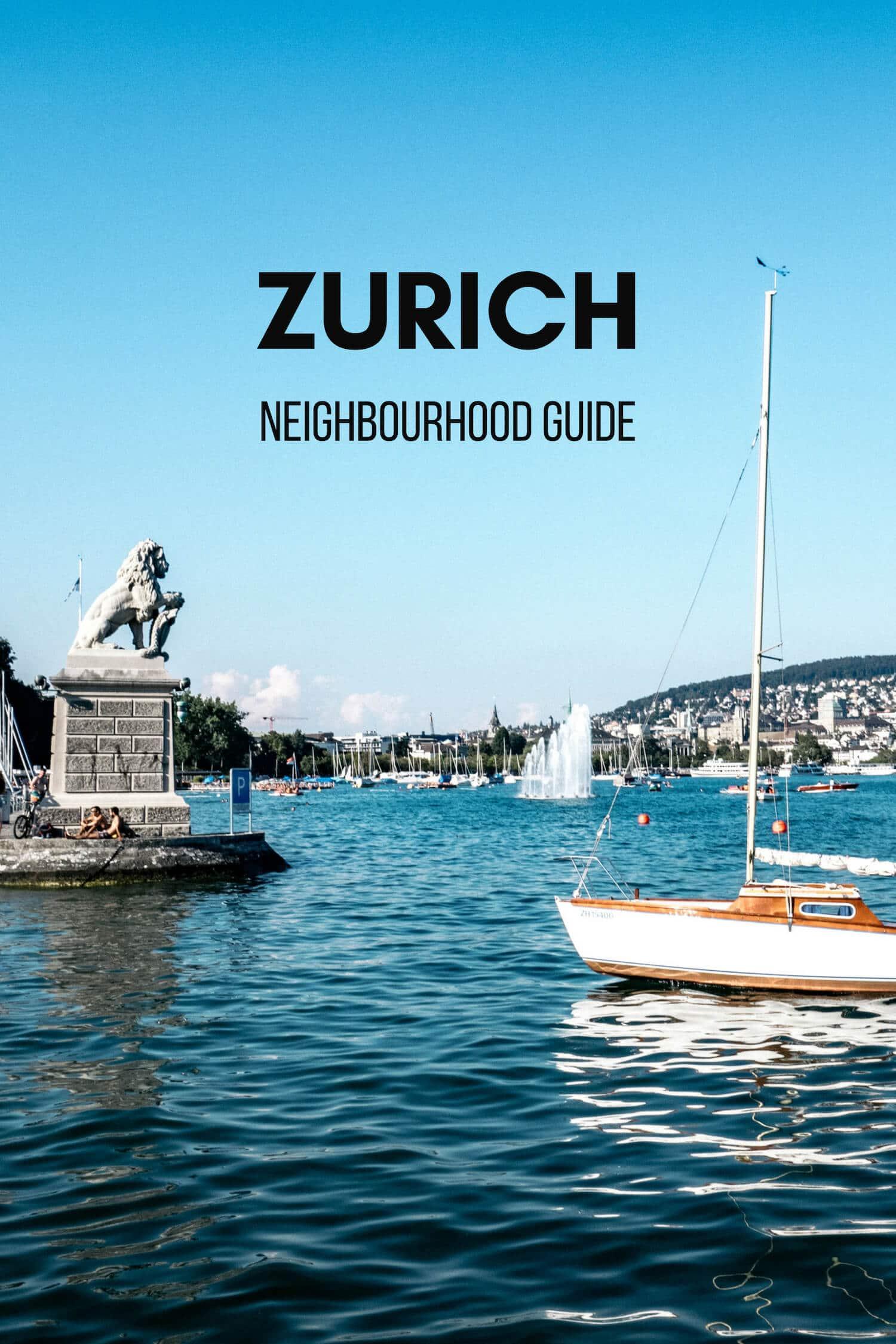 Where to Stay in Zurich Switzerland