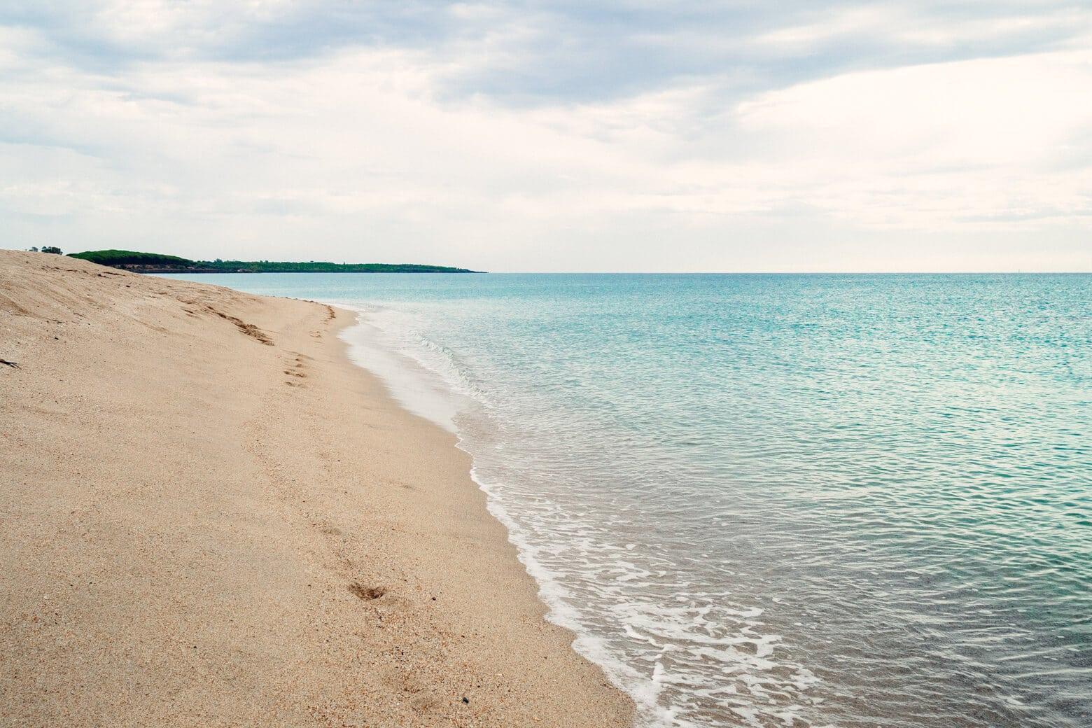 The Orosei Gulf in Sardinia