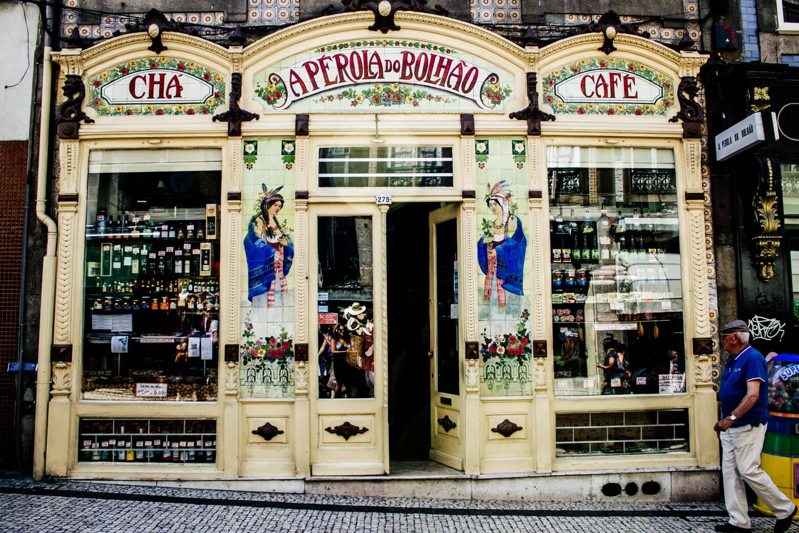 Porto Shop Front