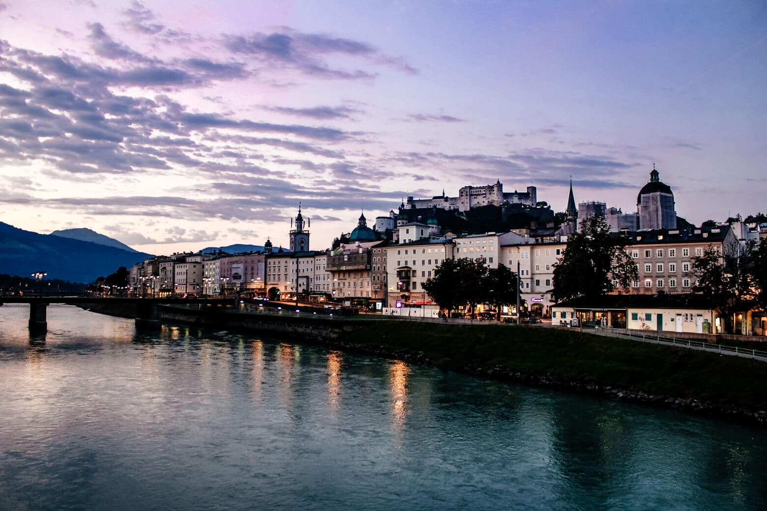 Salzburg Purple Sunrise
