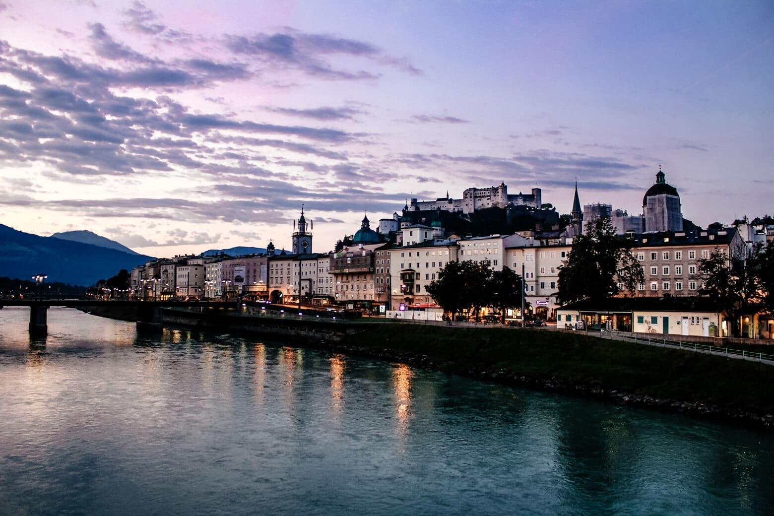 Salzburg Purple Sunrise