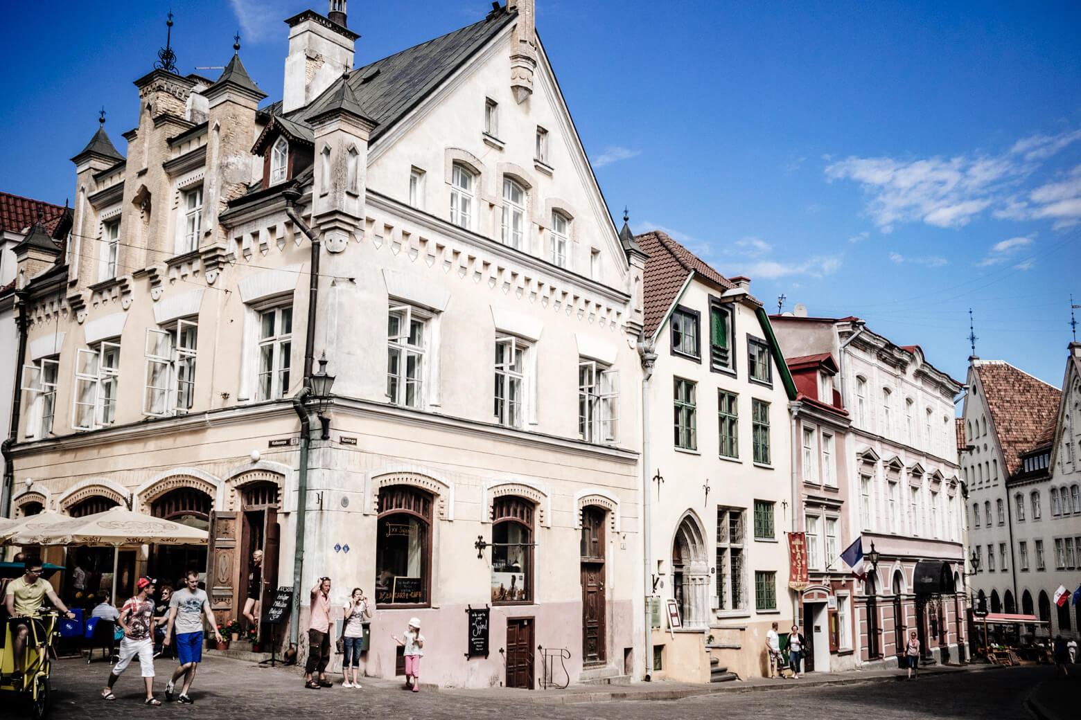 Tallinn Old Town Architecture