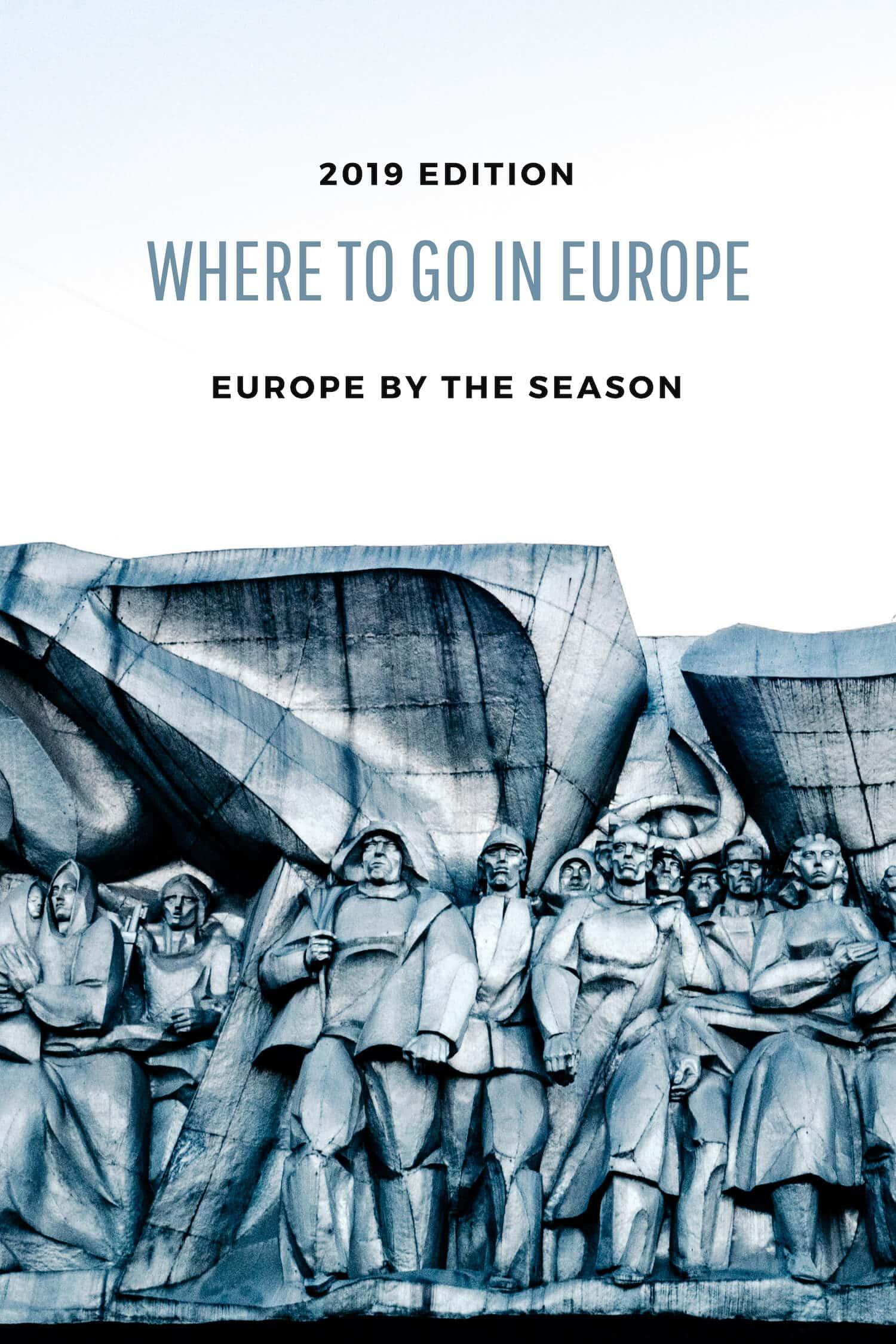 Visit Europe in 2019