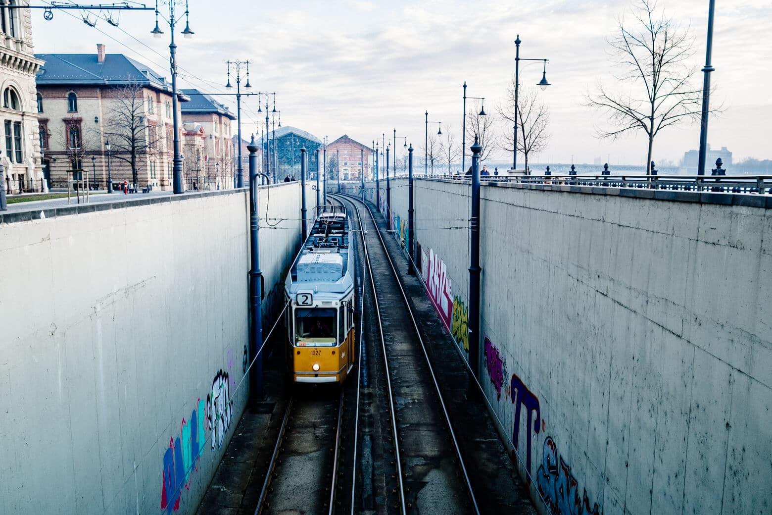 Budapest's #2 Tram
