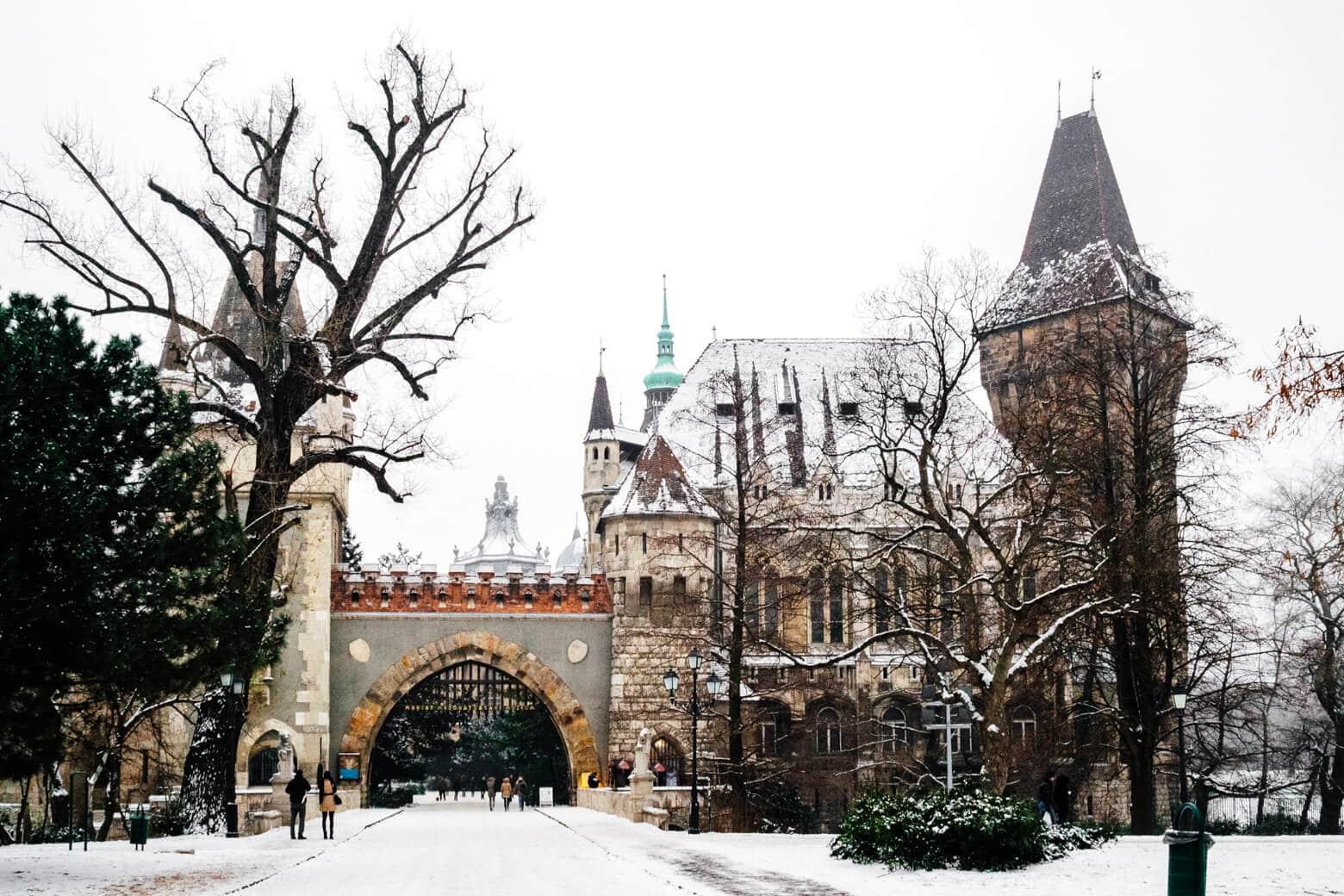 Vajdahunyad Castle and City Park - Free to Visit
