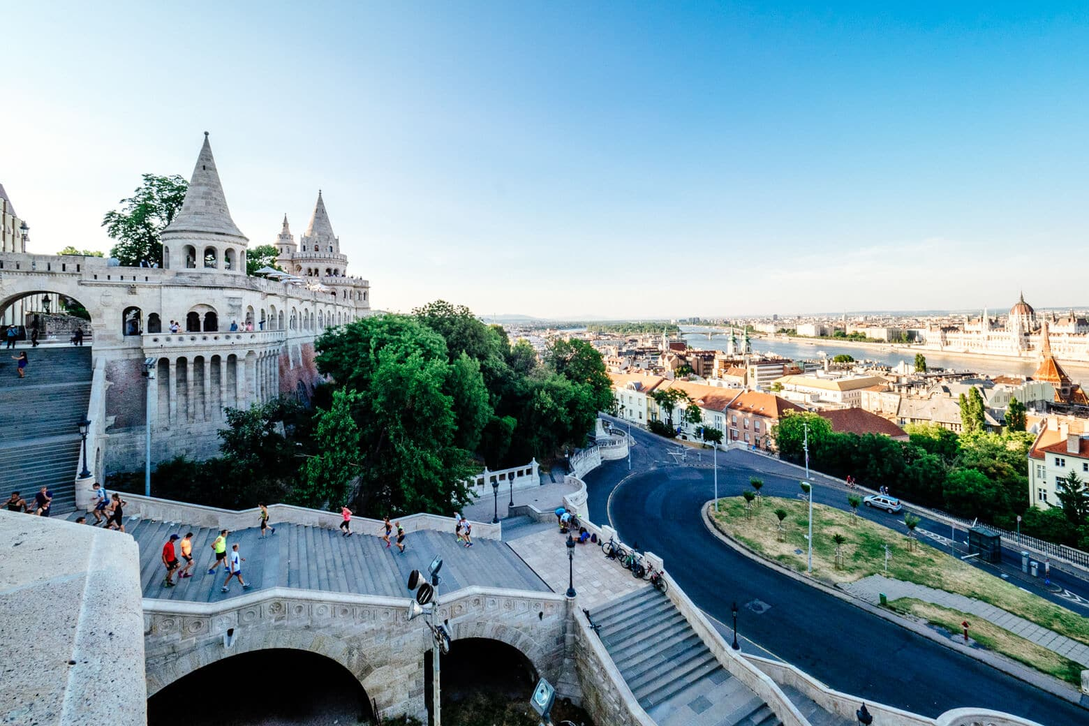 Fisherman's Bastion Before Sunset