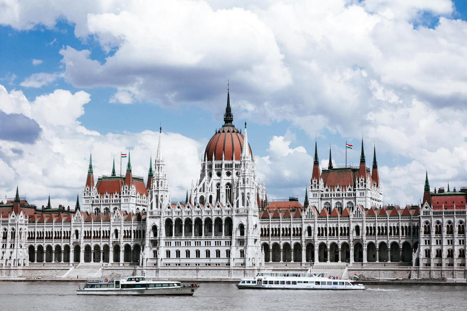 Hungarian Parliament from Batthyany Square