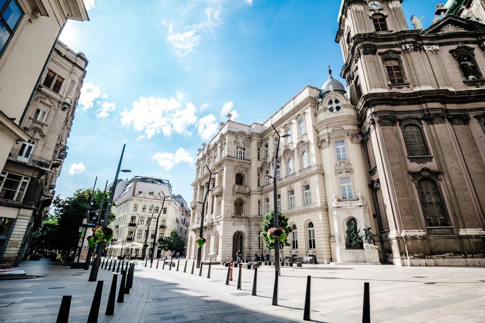 University Square Budapest