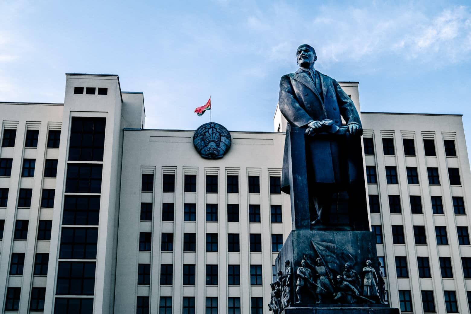 Lenin Monument - Central Minsk