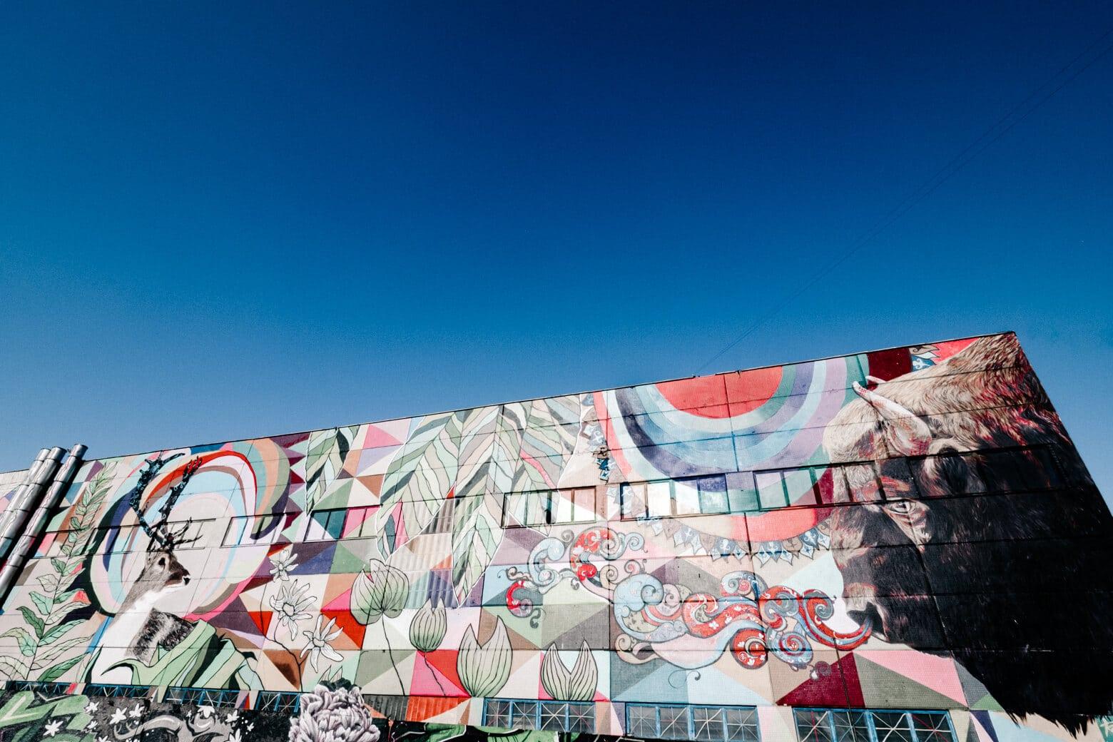 Leninsky District Street Art