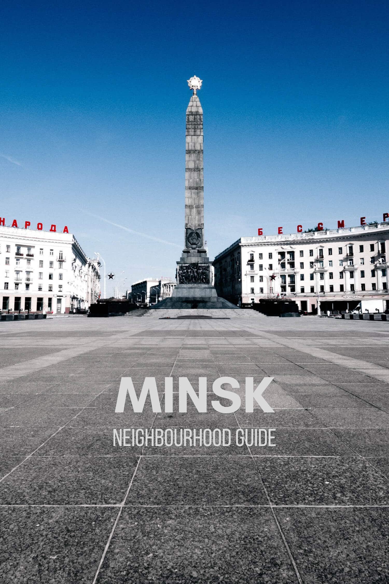 Where to Stay in Minsk Belarus